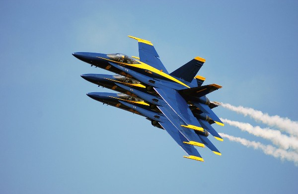The Blue Angels Air Planes