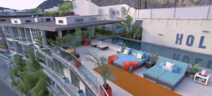 House Of Food on MTV Building located in LA
