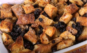 Barbara Rogers Boozy Bread Pudding on The Chew