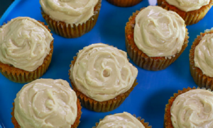 Curtis Stone Wedding Carrot Cupcakes recipe on Rachael Ray Show