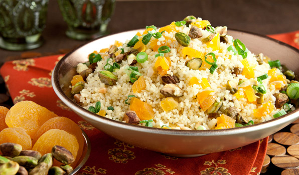 Couscous with Pistachios and Apricots recipe on In the Kitchen With ...