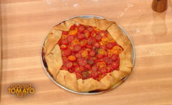 Grant Melton Roasted Tomato Tart recipe on Rachael Ray Show