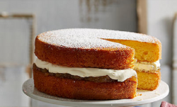 Luke Nguyen Victoria sponge with gooseberry jam recipe on Luke Nguyen's United Kingdom