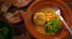 Shane Delia Sardine kefta with potato bread recipe on Shane Delia's Moorish Spice Journey