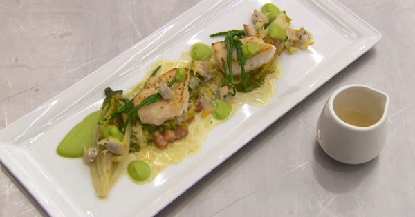 Nick's pan fried john dory recipe on MasterChef: The Professionals ...