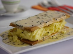 Simon Rimmer's Passionfruit Vanilla Custard Slices on Sunday Brunch