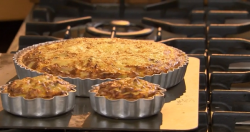 The Hairy Bikers Crab and Leek Tart on The Best Dishes Ever
