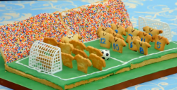 Louise's Showstopper Family Football Match Biscuits on The Great Sport Relief Bake Off