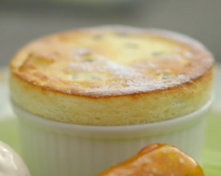 James Martin passion fruit soufflé recipe on The Best Dishes Ever