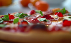 Lorraine Pascale pepperoni pizza recipe on The Best Dishes Ever