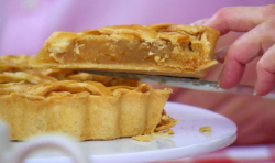 Mary Berry's  treacle tart on The Best Dishes Ever with Paul Hollywood