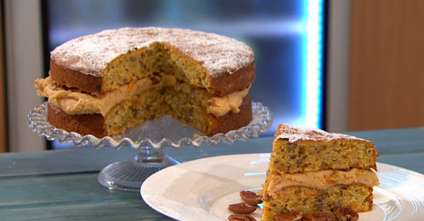 Simon Rimmer's Squash and Banana Cake Recipe on Sunday Brunch