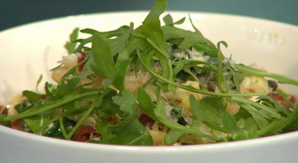 Simon Rimmer's cauliflower risotto on Sunday Brunch