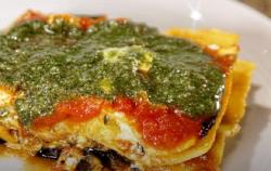 Daphne Oz's Eggplant and Zucchini Lasagna on The Chew