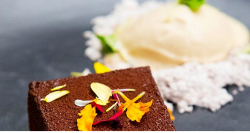 Harry's Espresso Bavarois dessert on MasterChef Australia