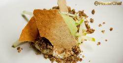 Elena's apple, cheese and biccies dessert on MasterChef Australia