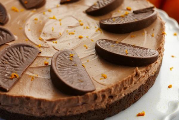 Tanya Burr's Chocolate Orange Cheesecake on Sunday Brunch ...