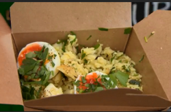 kedgeree with smoked haddock street food by What The Dickens on Countryfile