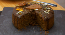 Michael's lime, ginger and honey drizzle cake on The Great British Bake Off