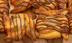 Andrew's mum and dad's breakfast pastries on The Great British Bake Off