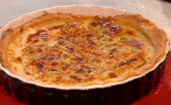 Emily's bloody Mary Berry quiche on The Great British Bake Off: An Extra Slice
