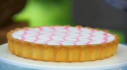 Mary Berry's Bakewell tart with frangipane on The great British bake off