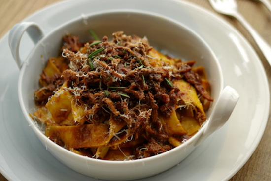 ... Rimmer's Pappardelle with Rabbit Ragu on Sunday Brunch - Sharingboost