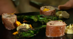 Nick and Matt's pheasant with truffles dish on Countryfile