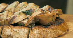 Cyrus Todiwala's spicy sausages on toast on Countryfile