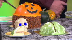 The spookiest halloween cakes  on ITV This Morning