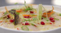 Monica's sea bass ceviche on MasterChef: The Professionals