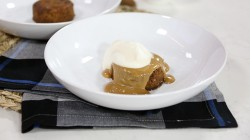 Michael Bonacini's sticky Toffee Pud with Salted Caramel on The Marilyn Denis Show