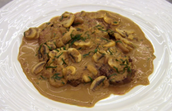 Marcus Wareing's steak Diane on Masterchef The Professional