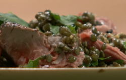 Nigel Slater's hangover beef salad on Saturday Kitchen