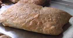 Greek bougatsa pie on on Rick Stein's Long Weekends