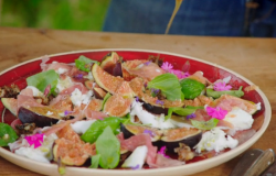 Jimmy's Parma Ham and Wild Honey Salad on Jamie and Jimmy's Friday Night Feast