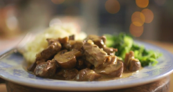 Mary Berry's horseradish mustard beef dish on Saturday Kitchen