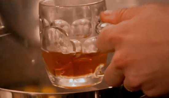 Tom Kerridge's mulled cider with orange and dark run on Saturday Kitchen