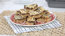 Ann's Chocolate Almond Toffee Bars on The Marilyn Denis Show
