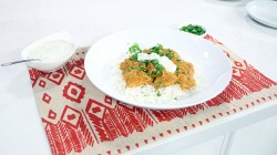 Vijaya Selvaraju's Chicken Tikka Masala dish on The Marilyn Denis Show