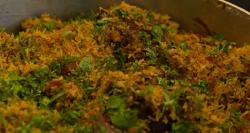 Aktar's lamb biryani with coriander and mint dish on The Hairy Bikers' Comfort Food