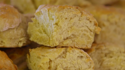 Jill Savage's scones made with a secret family recipe on The Hairy Bikers' Comfort Food