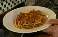 Eda's spaghetti bolognese on The Hairy Bikers' Comfort Food