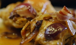 Nigel Slater chicken with bacon, apple and cider on Nigel Slater 's Dish Of The Day
