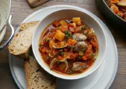 Simon Rimmer's Manhattan Clam Chowder on Sunday Brunch