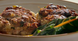 Nigel Slater pork meatballs with anchovies on Saturday Kitchen