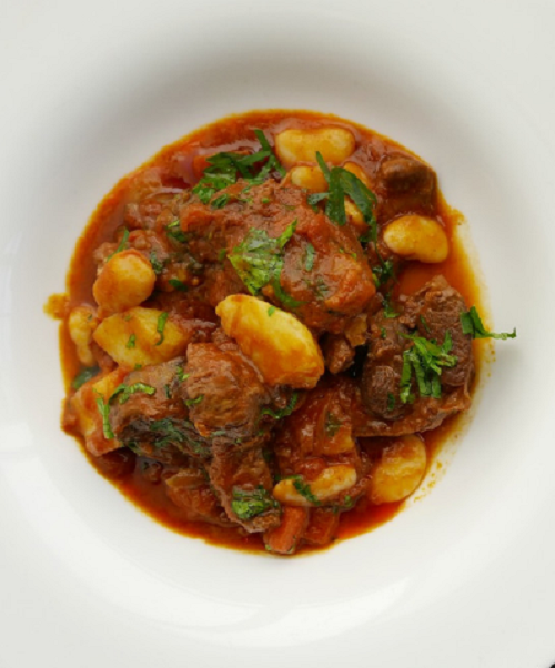 Simon Rimmer 'Windsor Cut' of Lamb with Beans and Tomato on Sunday Brunch