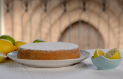 Paul Hollywood cassata al forno Siciliana cake on Paul Hollywood City Bakes