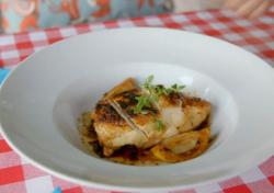 Annetta's chicken provencal dish on Hidden Restaurants with Michel Roux Jr