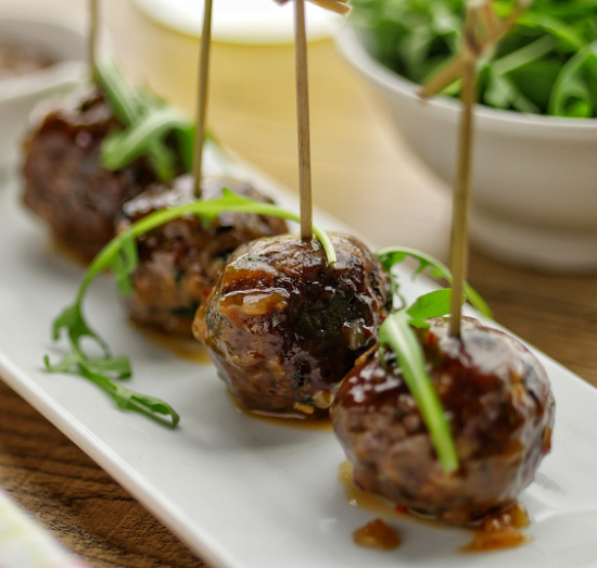 Simon Rimmer Duck Meatballs on Sunday Brunch